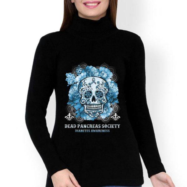 Sugar Skull Dead Pancreas Society Diabetes Awareness shirt