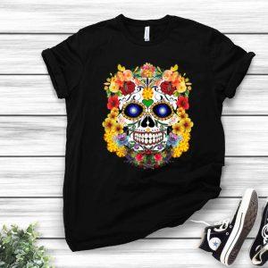 Sugar Skull Of Flowers shirt