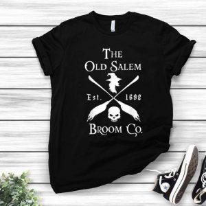 The Old Salem Broom Company Est 1692 Halloween shirt