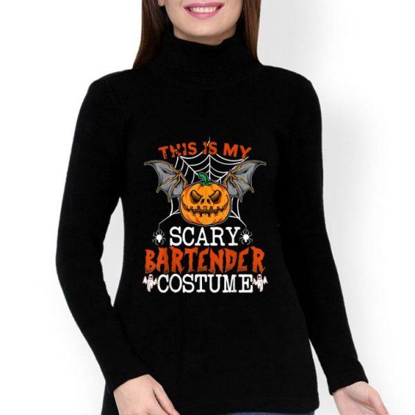 This Is My Scary Bartender Costume Pumpkin Halloween shirt