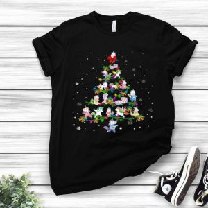 Unicorn Christmas Tree shirt