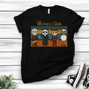 Vintage Horror Club Horror Character Halloween shirt