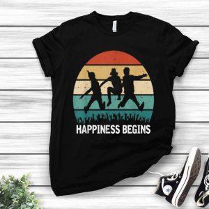 Vintage Jonas Brothers Happiness Begins Tour 2019 shirt