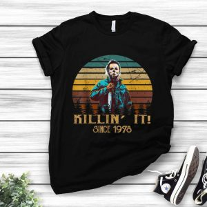 Vintage Retro Michael Myers Killin' It Since 1978 Halloween shirt