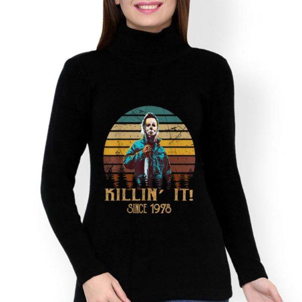 Vintage Retro Michael Myers Killin' It Since 1978 Halloween shirt