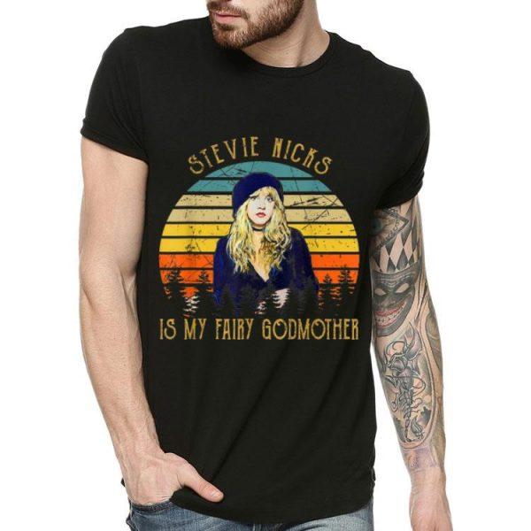 Vintage Stevie Nicks Is My Fairy Godmother shirt