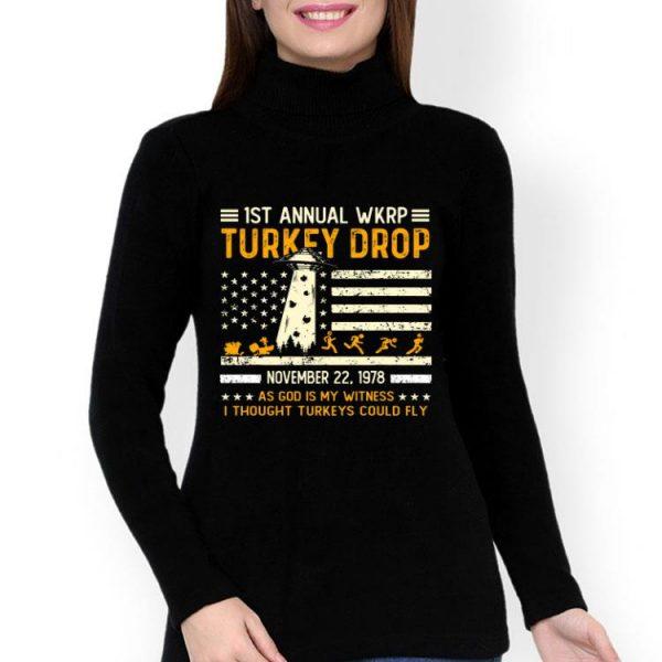 Wkrp Turkey Drop Vintage Thanksgiving Day shirt