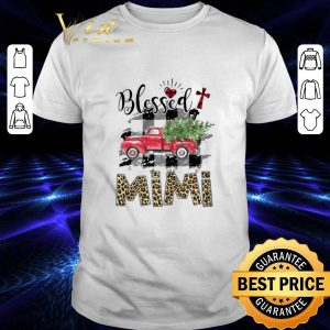 Best Truck Blessed mimi Christmas shirt