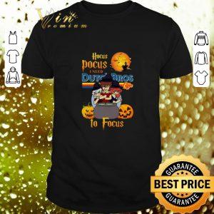 Cheap Hocus Pocus i need Dutch Bros coffee to focus shirt