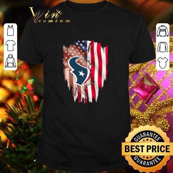 Cheap Houston Texans American flag shirt