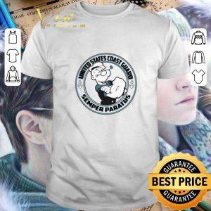 Cheap Popeye United States Coast Guard Semper Paratus shirt