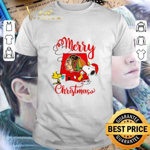 Cheap Snoopy Merry Christmas Woodstock Washington Redskins shirt