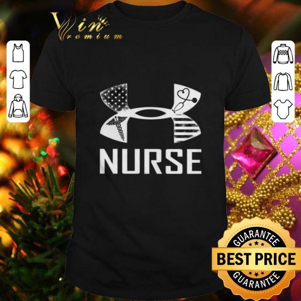 Cheap Under armour Nurse American shirt