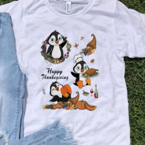 Cute Penguins Happy Thanksgiving Day shirt