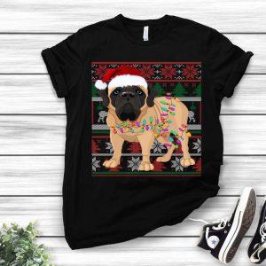 English Mastiff Ugly Christmas Dog Lovers shirt