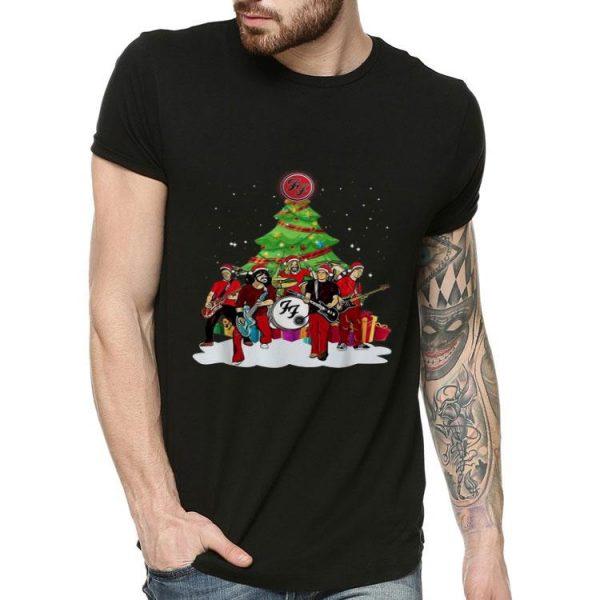 Foo Fighters Christmas Tree FF Rock Band shirt