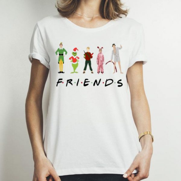 Friends Elf Christmas Movie Characters shirt