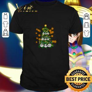 Funny Face Jack Skellington Christmas tree shirt