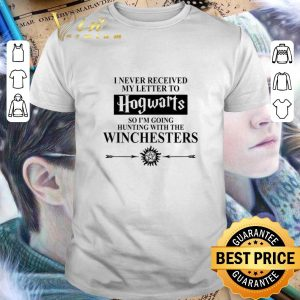 Funny I never received my letter to Hogwarts so i'm going Winchesters shirt