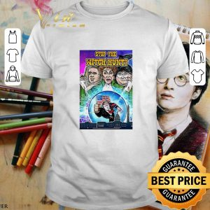 Funny Trump Hocus Pocus stop the witch hunt shirt