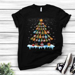 Gnome Garden Gardening Christmas Tree shirt
