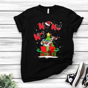 Goofy Ho Ho Ho Santa Claus Christmas shirt
