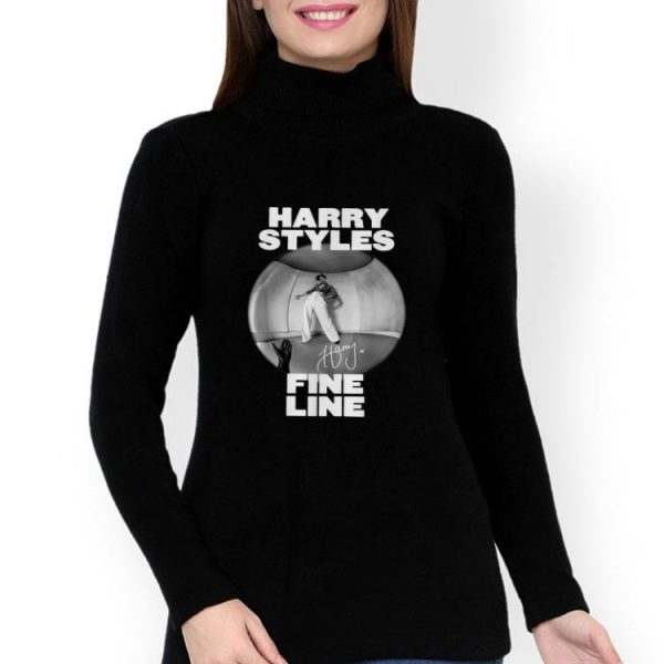 Harry Styles Fine Line Album Signature shirt