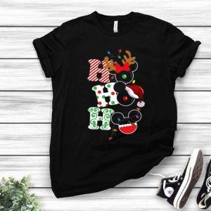 Ho Ho Ho Santa Mickey Mouse Christmas shirt