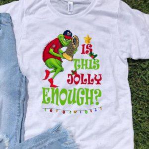 Is This Jolly Enough Christmas Grinch Washington's Champs shirt