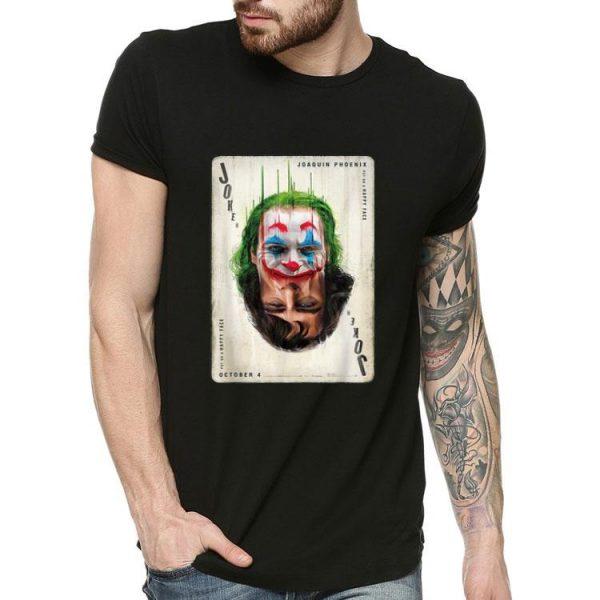 Joker Mask Joaquin Phoenix Put On A Happy Face shirt