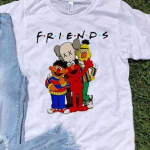 Kaws And Sesame Street Friends shirt