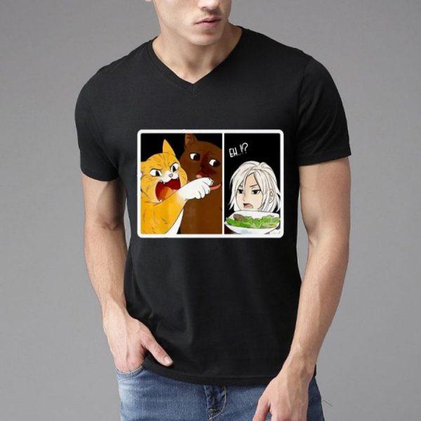Madoka Yelling And Garfield Woman Yelling At Cat Meme shirt