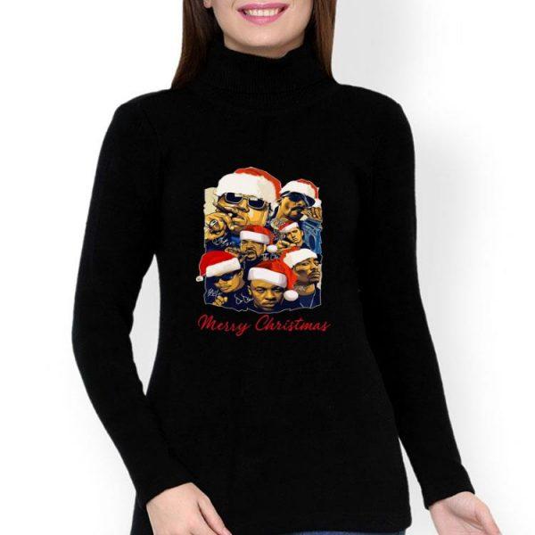 Notorious Big Snoop Dogg Ice Cube Signatures Christmas shirt