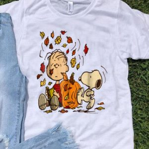 Peanuts Snoopy & Linus Fall Thanksgiving Day shirt
