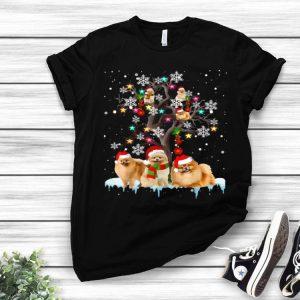 Pomeranian Christmas Tree Dog Lovers Chirstmas shirt
