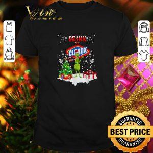 Premium Grinch drink up Clorox Christmas shirt