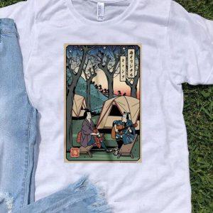 Samurai Camping Play Guitar shirt