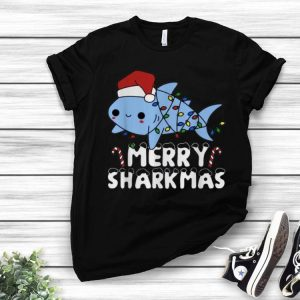 Santa Shark Merry Sharkmas Christmas shirt