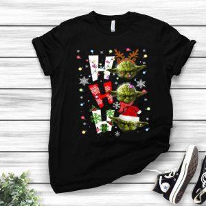 Santa Yoda Ho Ho Ho Christmas shirt