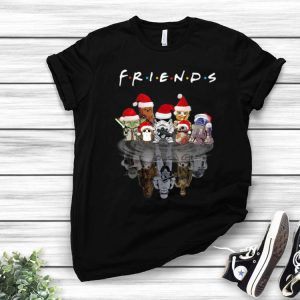 Star Wars Characters Water Reflection Friends Christmas shirt