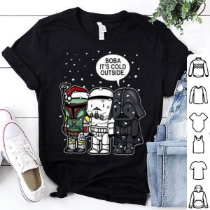 Star Wars Christmas Boba It's Cold Outside shirt