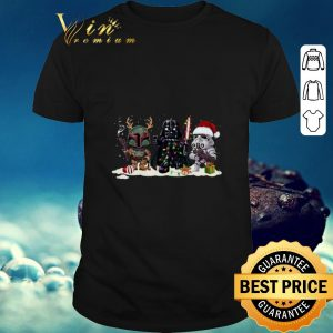 Stormtrooper Boba Fett Darth Vader and Christmas shirt