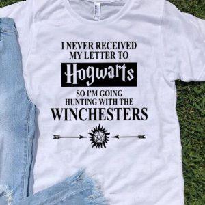 Supernatural I Never Received My Letter To Hogwarts Hunting shirt