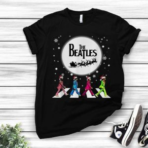 The Beatles Abbey Road Santa Christmas shirt