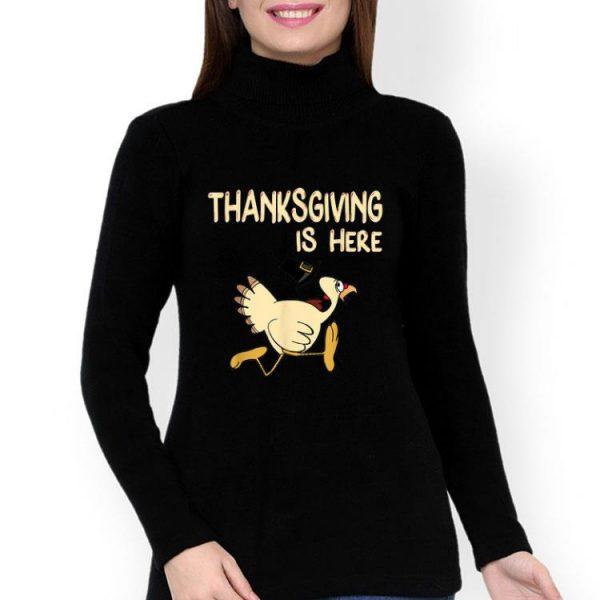 Turkey Pilgrim Hat Thanksgiving Is Here shirt