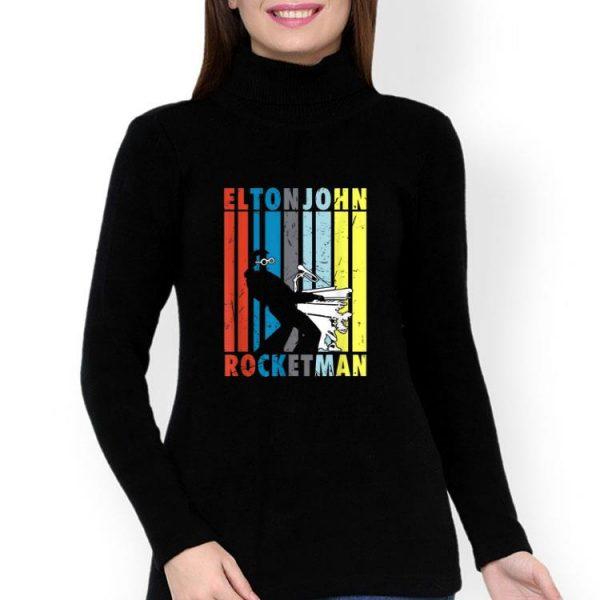 Vintage Elton John Playing Piano Peanuts Rocketman shirt