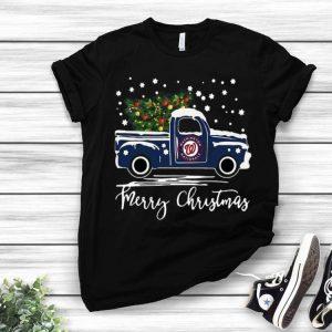 Washington Nationals Truck Merry Christmas shirt