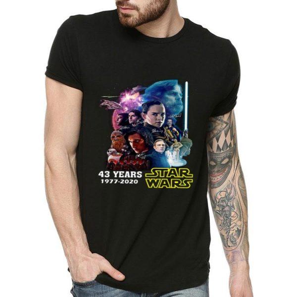 43 Years Of Star Wars 1977-2020 shirt