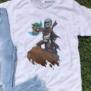 Baby Yoda Mandalion Lion King shirt