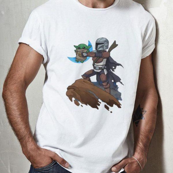 Baby Yoda Mandalion Lion King shirt